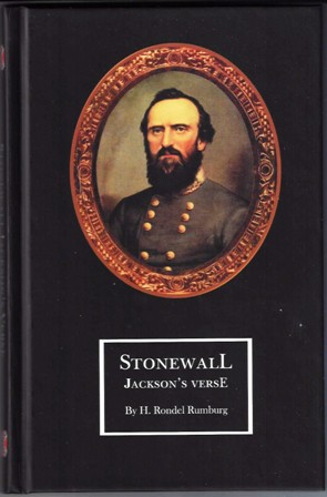 Image for STONEWALL JACKSON'S VERSE