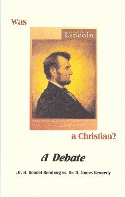 Image for Was Abraham Lincoln a Christian?  A Debate