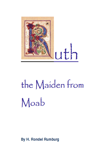 Image for Ruth the Maiden from Moab