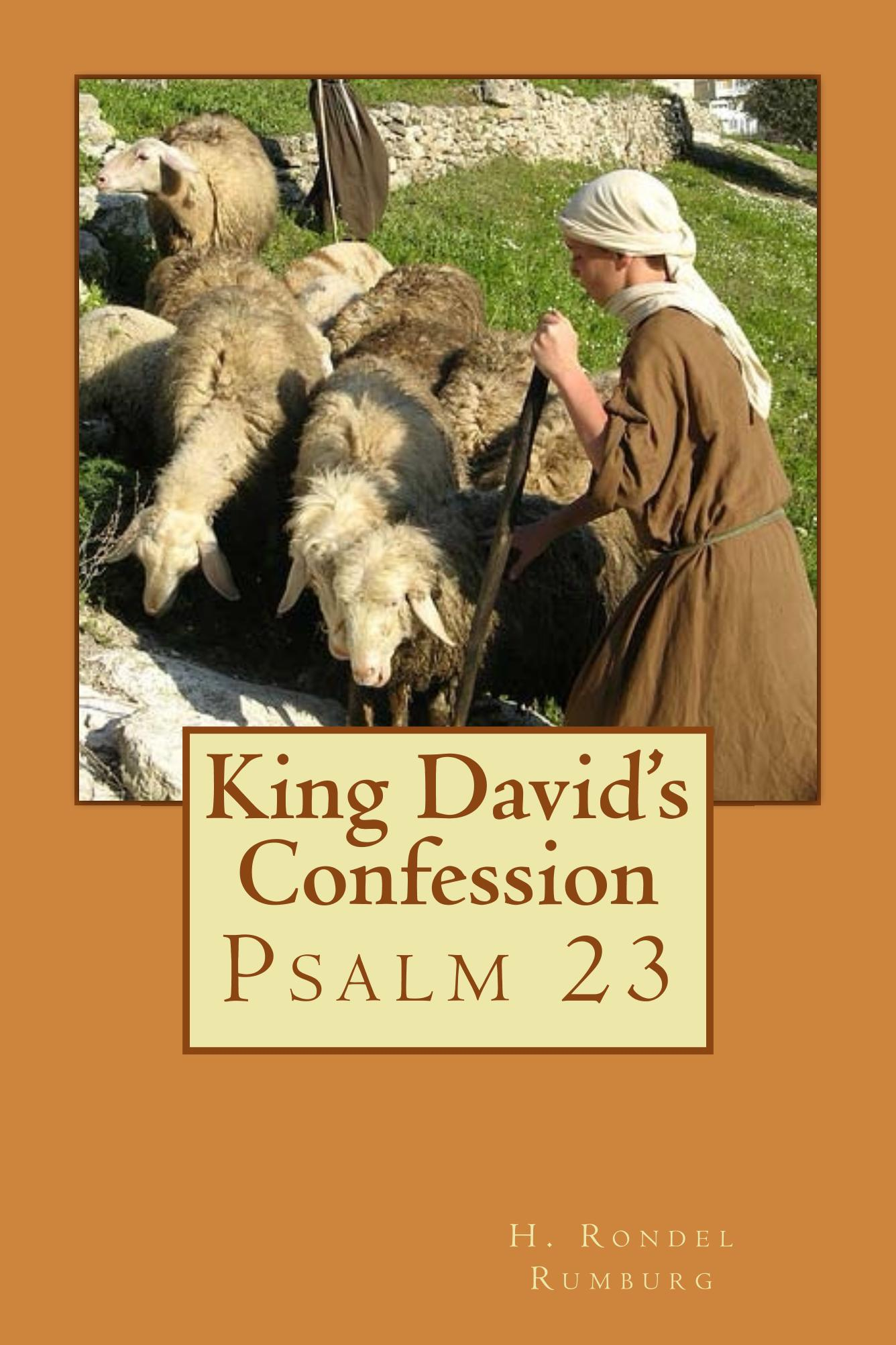 Image for King David's Confession:  Psalm 23
